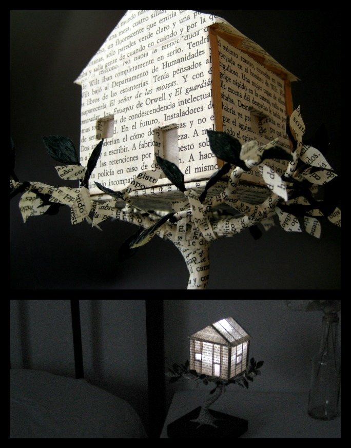 editura-contour-Night-light-house-book-art-sculpture-by-Malena-Valcárcel